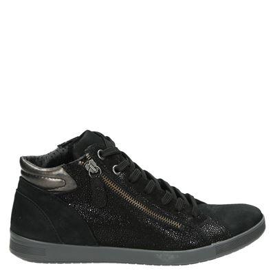 Nelson dames sneakers zwart