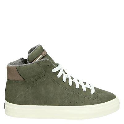 Esprit dames sneakers groen