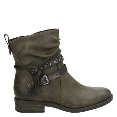 Marco Tozzi dames boots groen