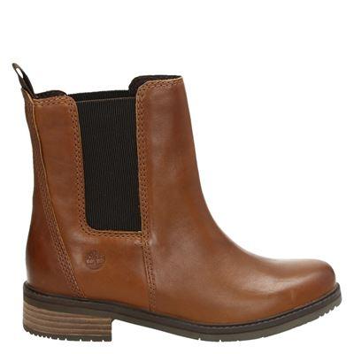 Timberland dames laarsjes & boots cognac