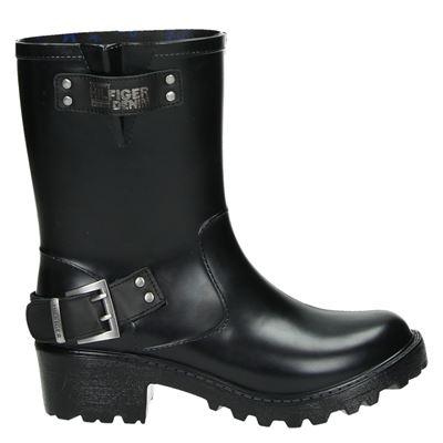 Hilfiger Denim dames laarzen zwart