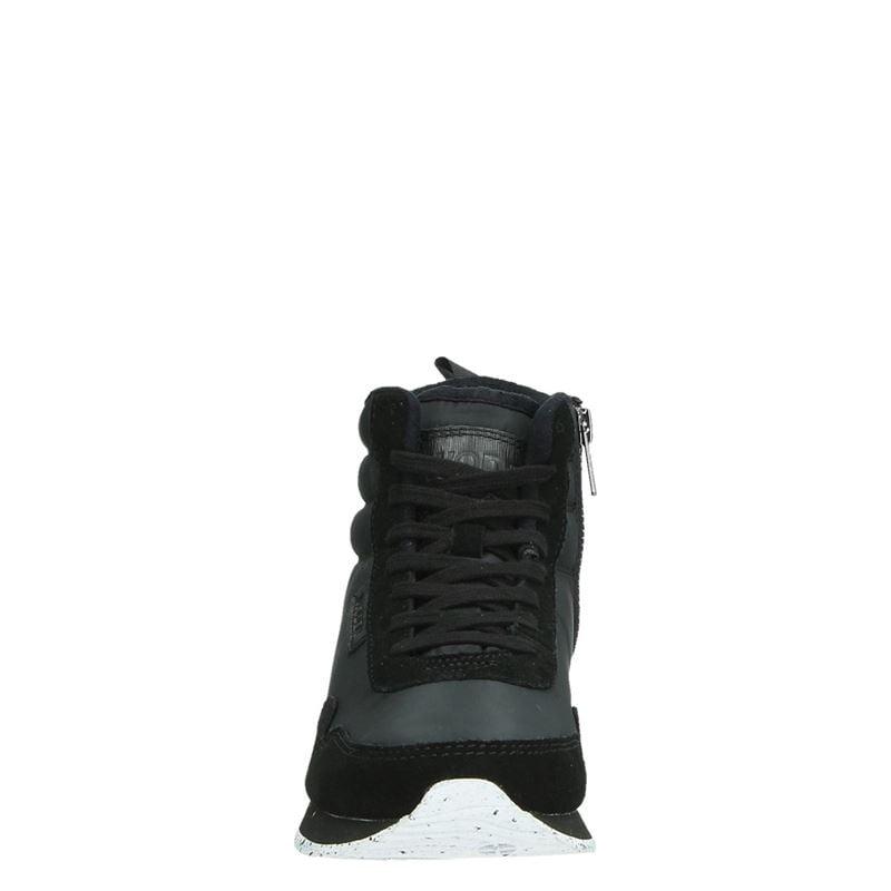 Woden Nora II - Hoge sneakers - Zwart