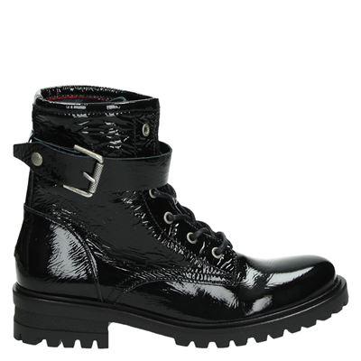 Hilfiger Denim dames boots zwart