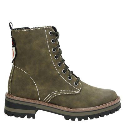 S.Oliver dames boots kaki