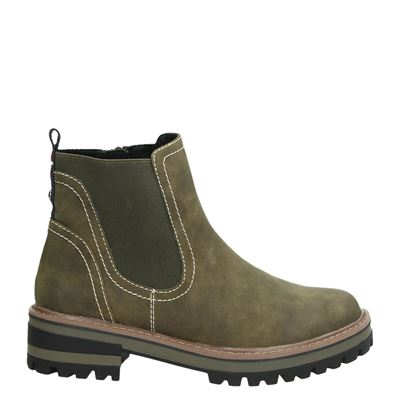 S.Oliver dames boots groen
