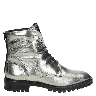 Nelson dames boots zilver