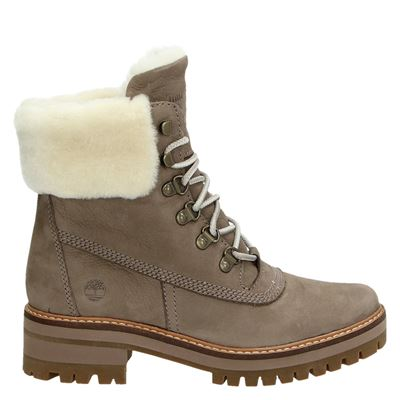 Timberland dames boots taupe