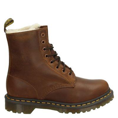 Dr. Martens dames boots cognac