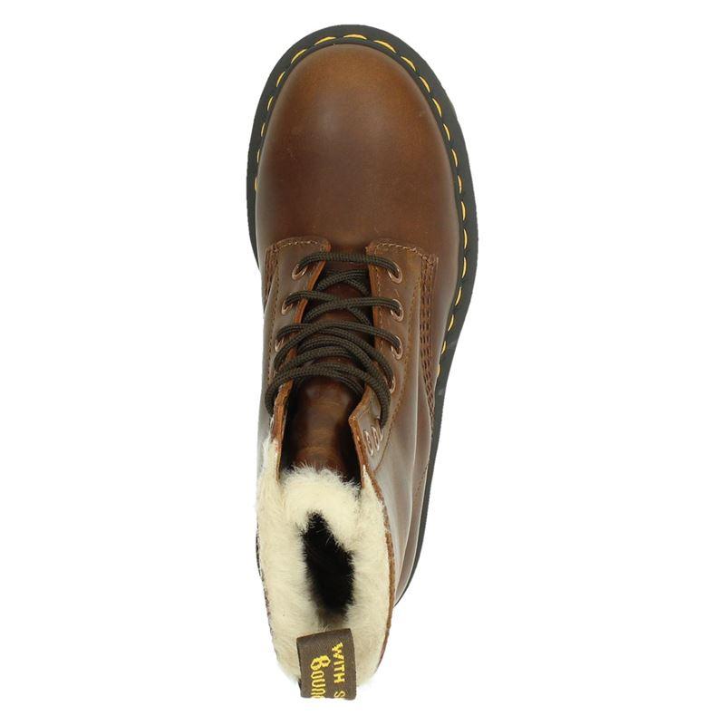 Dr. Martens 2179 fur - Veterboots - Cognac