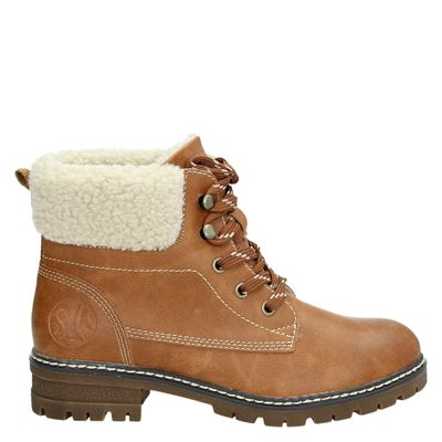 S.Oliver dames boots cognac