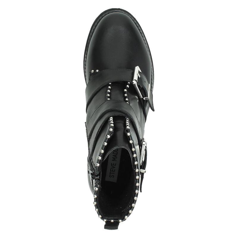 Steve Madden Hoofy - Rits- & gesloten boots - Zwart