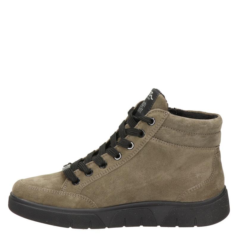 Ara - Hoge sneakers - Taupe