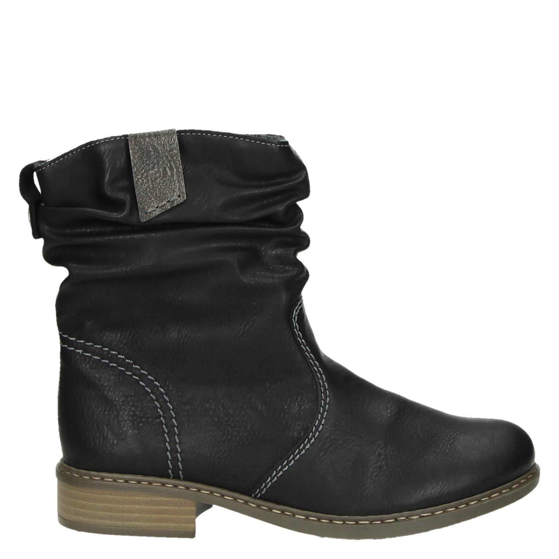 a52fba89d2d Rieker dames rits- & gesloten boots zwart