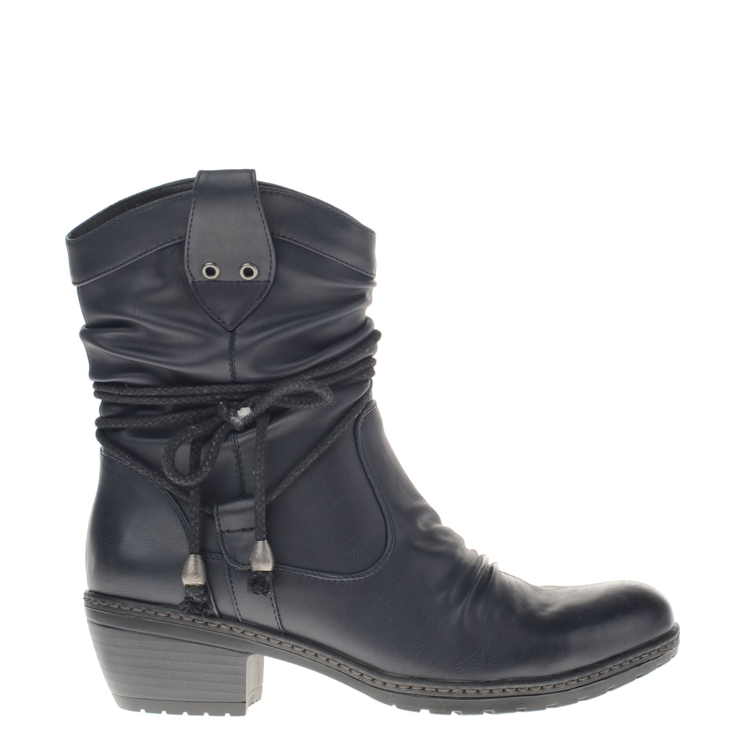 Bottines Noir Rieker CkY0psu