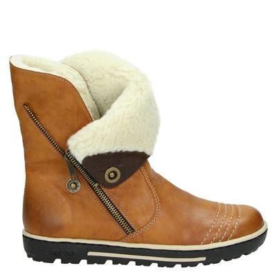 Rieker dames boots cognac