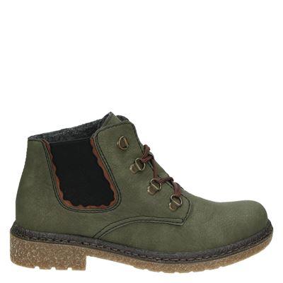 Rieker dames boots groen