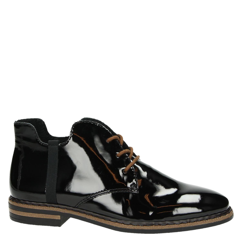 Chaussures À Lacets Rieker Noir WLaIf