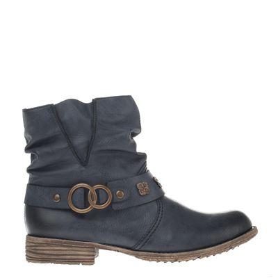 Rieker dames laarzen blauw