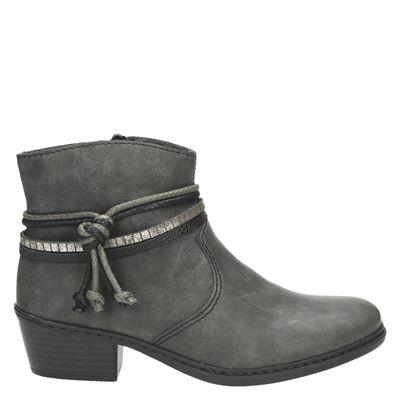 Rieker dames laarzen grijs