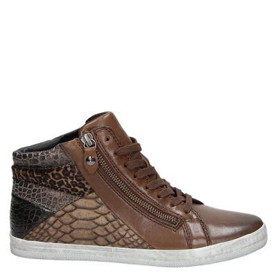 Gabor dames sneakers cognac