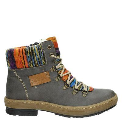 Rieker dames boots grijs