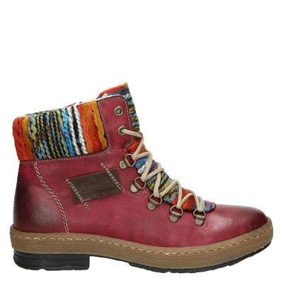 Rieker dames boots rood
