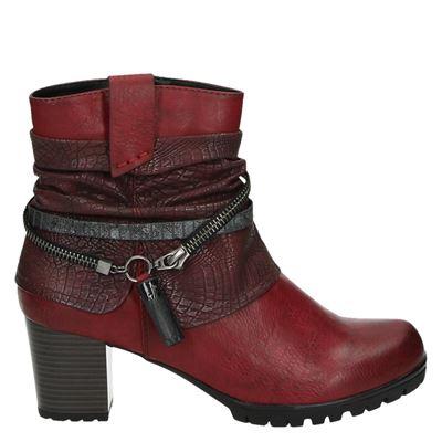 Rieker dames laarzen rood