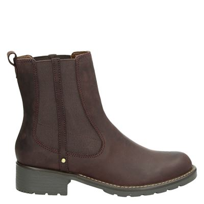 Clarks dames boots rood