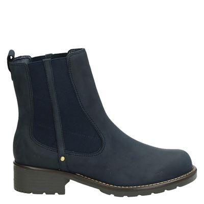 Clarks dames boots blauw