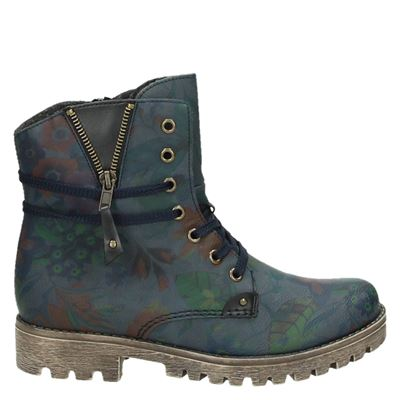 Rieker dames boots blauw