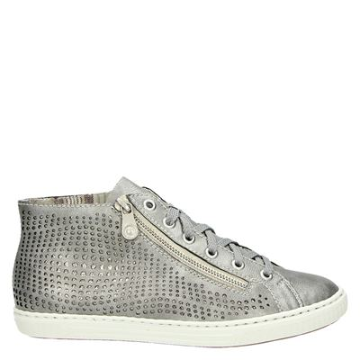 Rieker dames sneakers grijs