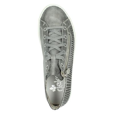 Rieker dames hoge sneakers Grijs
