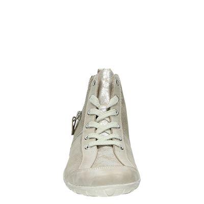 Remonte dames hoge sneakers Beige