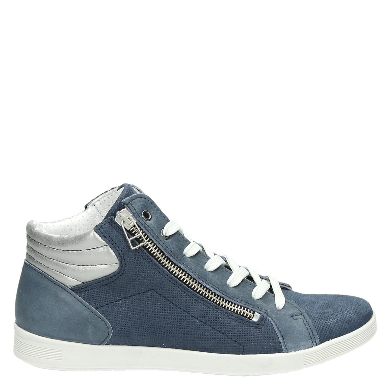 Nelson Chaussures Bleues Avec L'entrée Pour Les Dames RUW1NPsEK