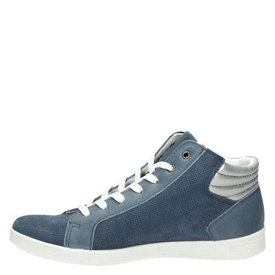 Nelson Hautes Chaussures De Sport Bleu Lrmhe