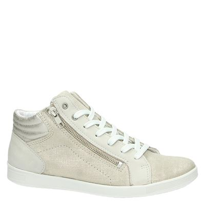 Nelson dames hoge sneakers Goud