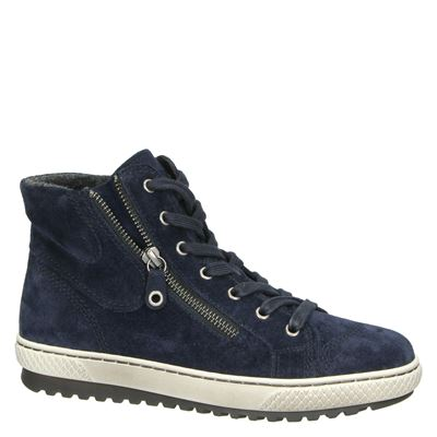 Gabor dames hoge sneakers Blauw