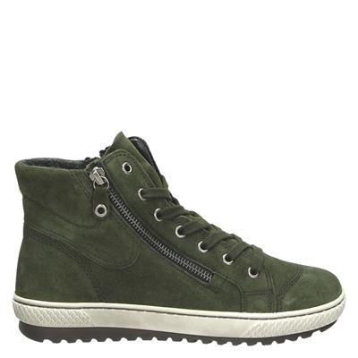 Gabor dames veterschoenen groen