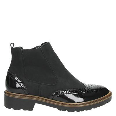 Jenny dames laarzen zwart