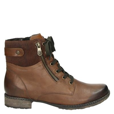 Remonte dames boots cognac