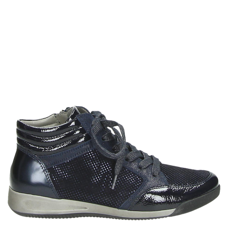 Chaussures Ara Bleu Avec Fermeture Éclair Pour Les Femmes XNP9V44