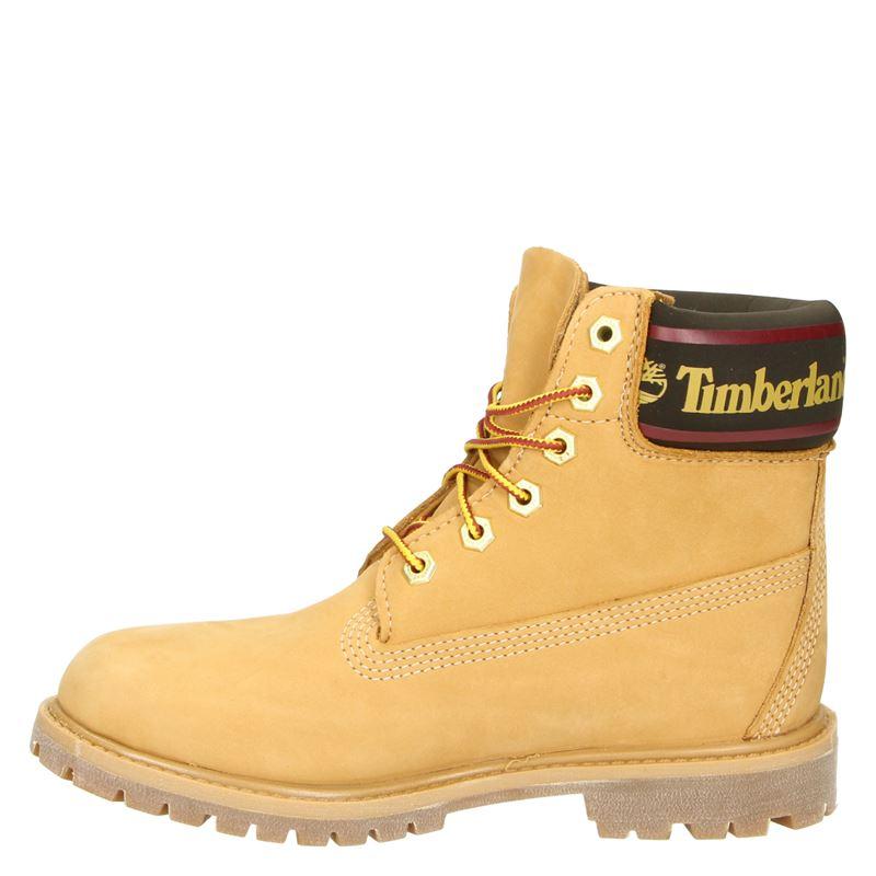 Timberland 6 Inch Logo Collar Boot - Veterboots - Geel
