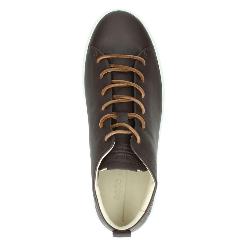 Ecco Soft 8 - Hoge sneakers - Bruin