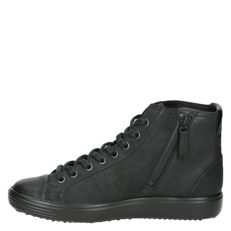 Ecco Ecco Soft 7 - Hoge sneakers - Zwart
