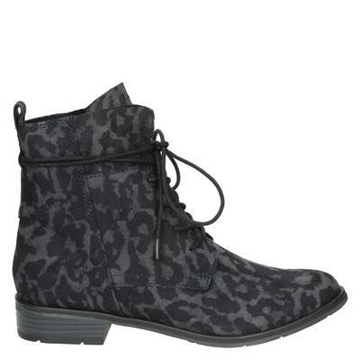 Marco Tozzi dames boots zwart