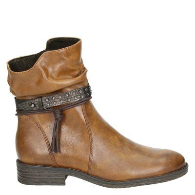 Marco Tozzi dames boots cognac