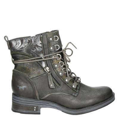 Mustang dames boots zwart
