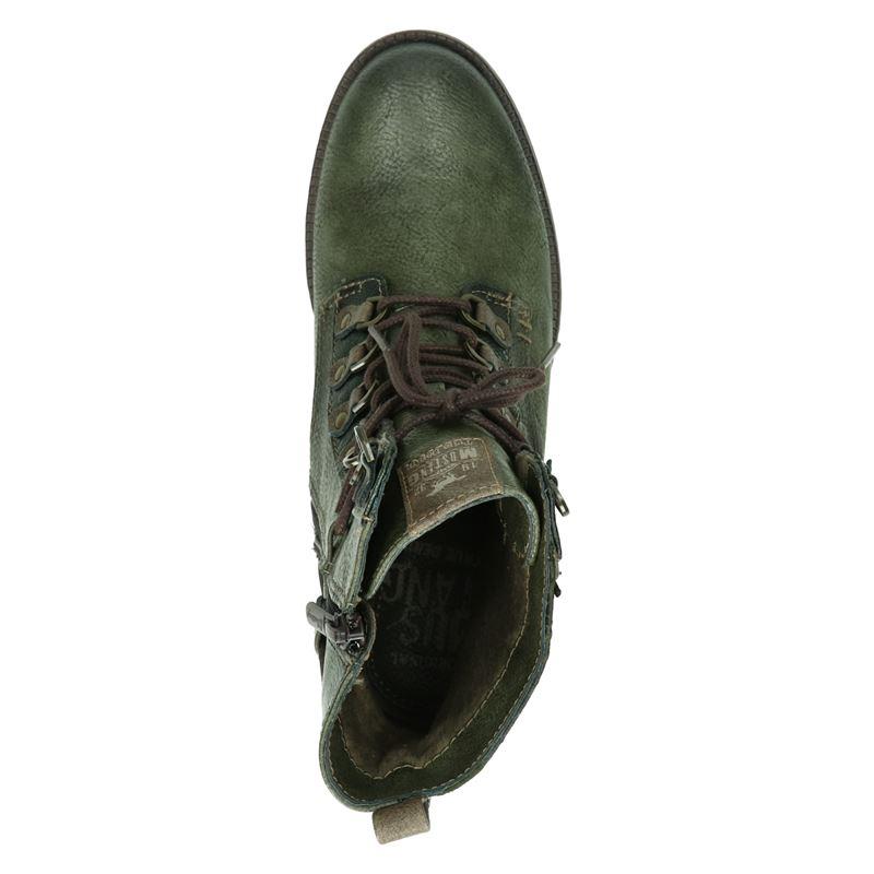 Mustang - Rits- & gesloten boots - Groen