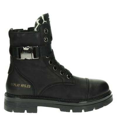 Replay dames boots zwart