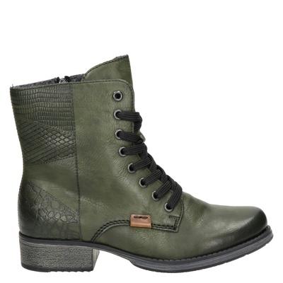 Rieker dames boots kaki